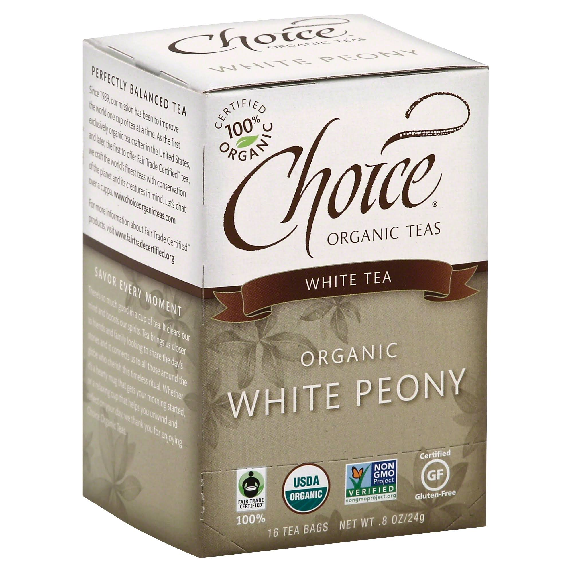 Choice Organic White Tea
