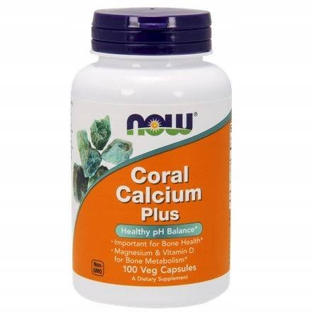 Now Foods Coral Calcium Plus - 100 Capsules