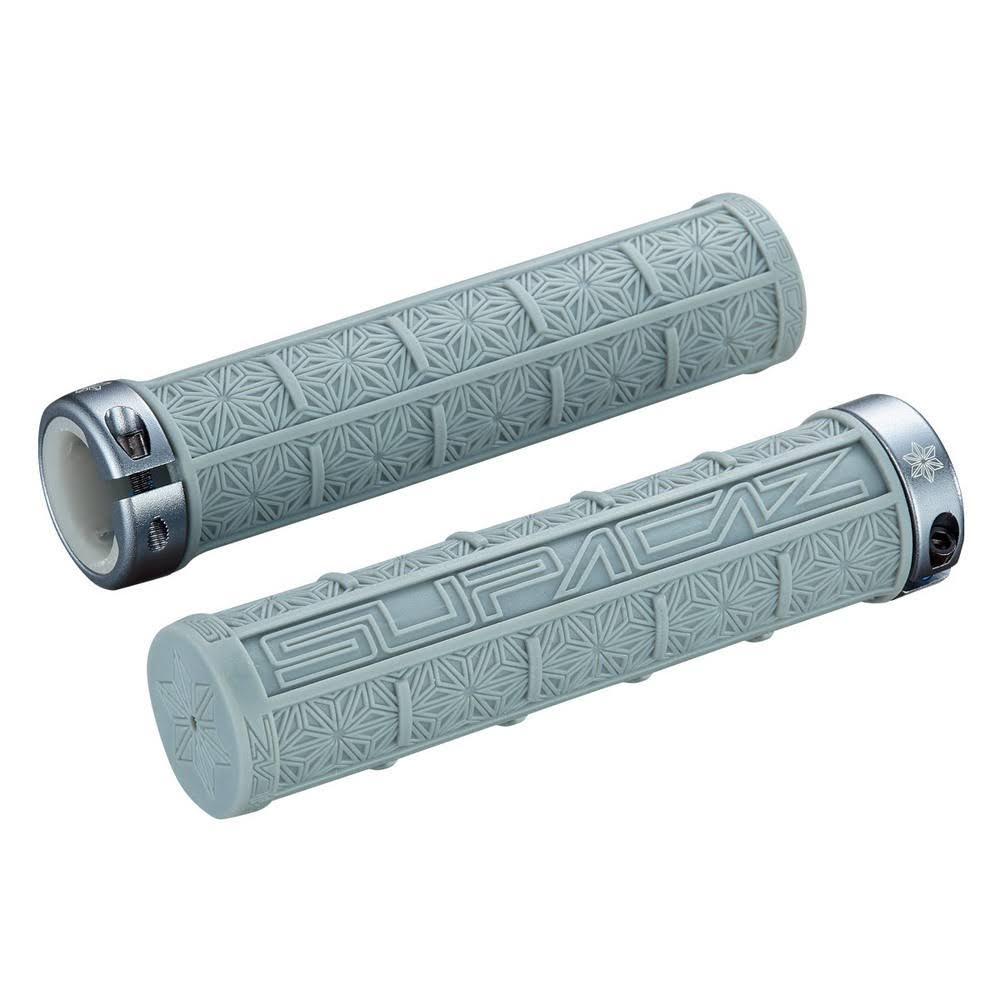 Supacaz Grizipsv Gunmetal Bicycle Grips - Gray