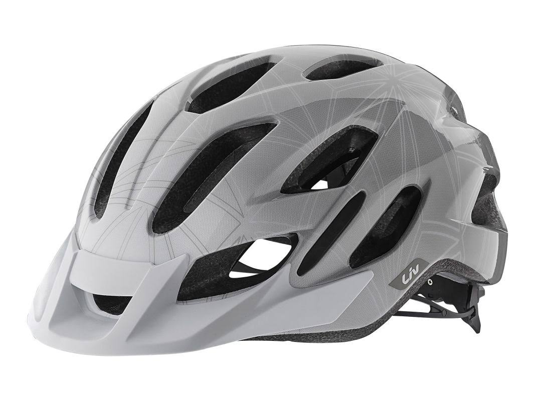 Liv Luta Helmet - Grey - Medium/Large