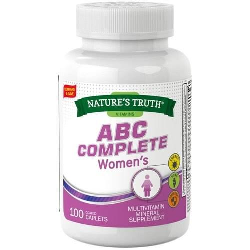 Nature's Truth ABC Complete Women's Mineral Supplement, 100 EA