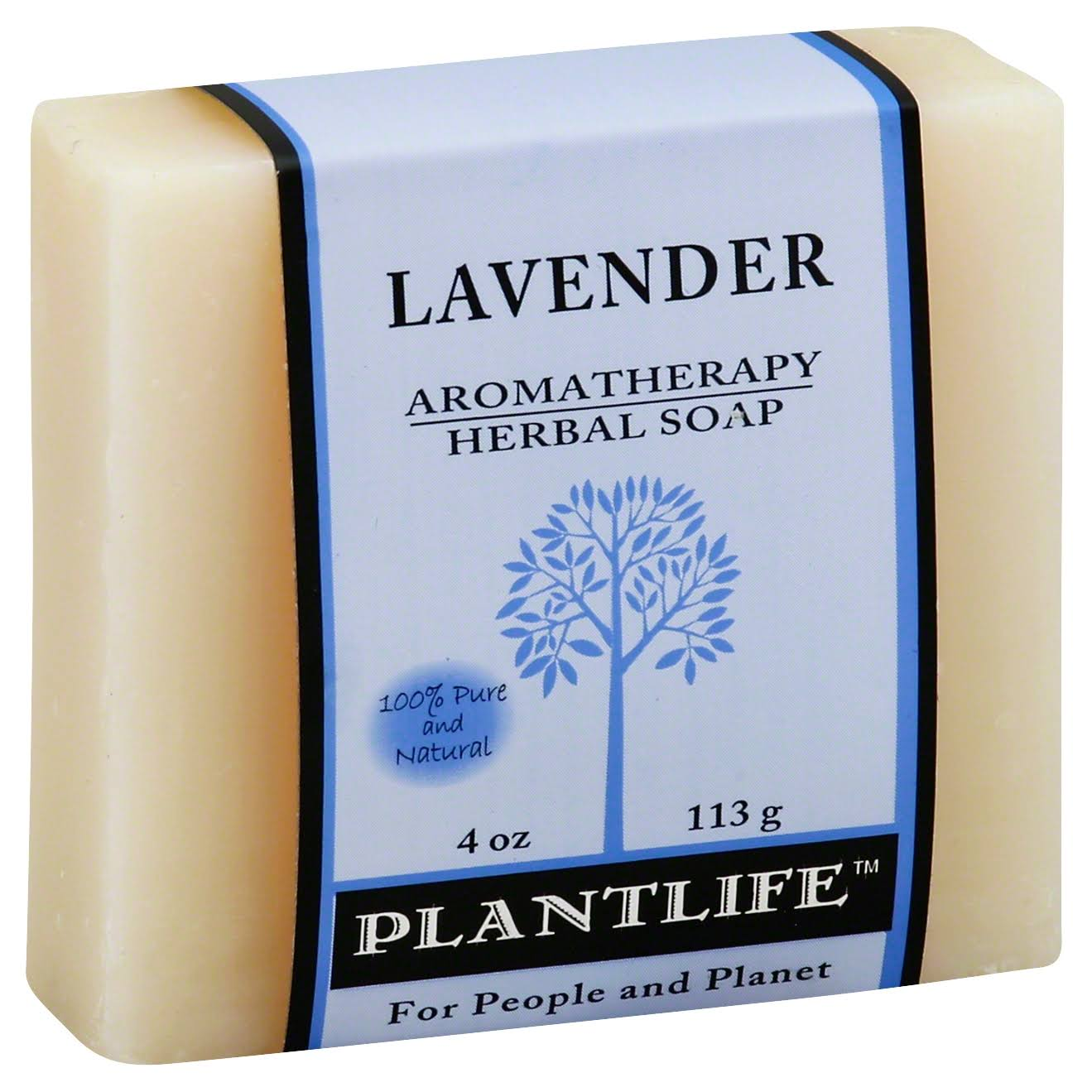 Plantlife Aromatherapy Herbal Soap - Lavender, 4 oz