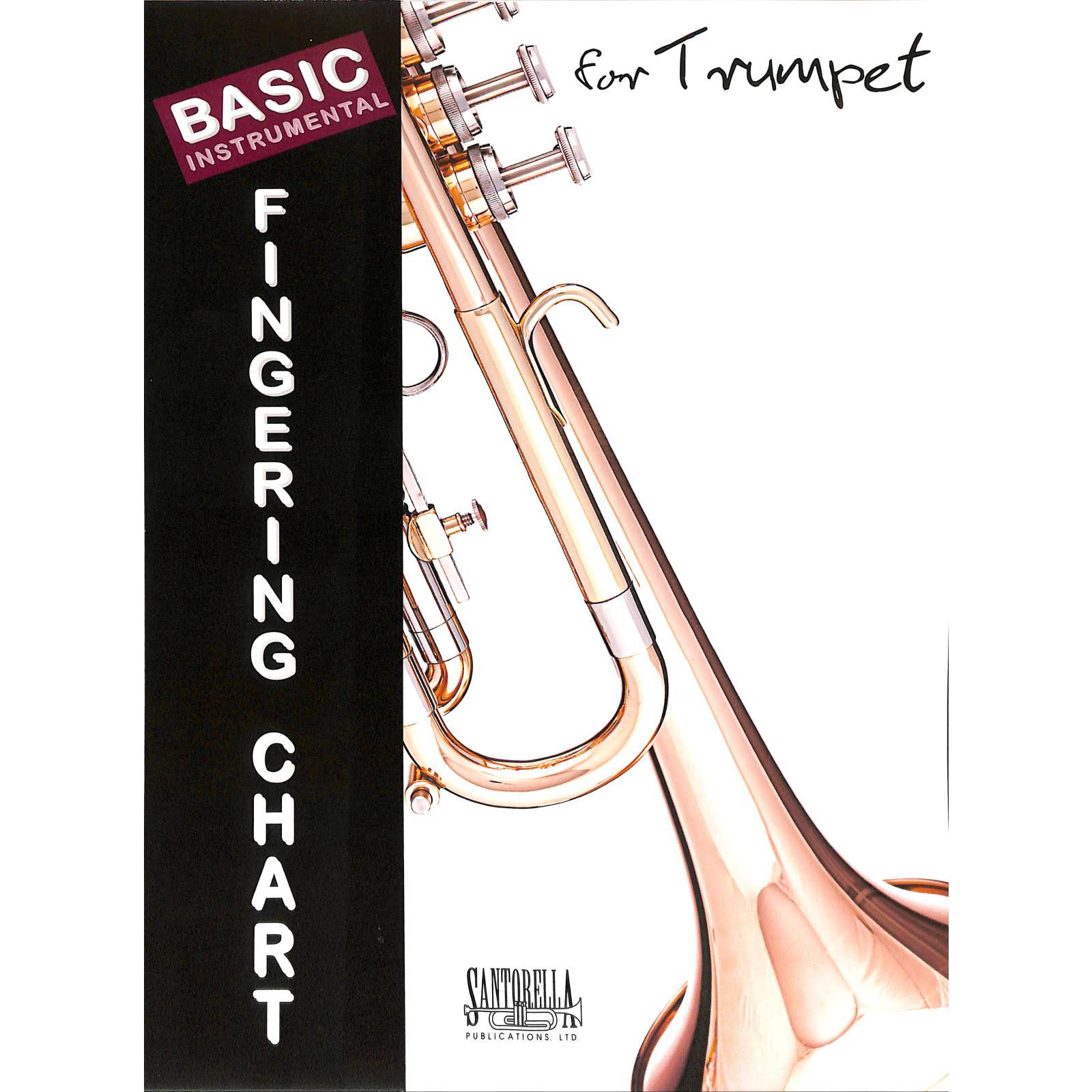 Basic Fingering Chart for Trumpet
