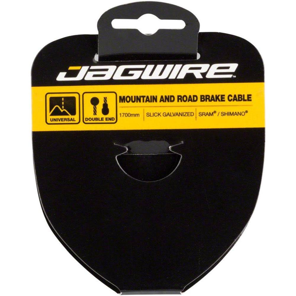 Jagwire Sport Brake Mountain and Road Bike Cable - Slick Stainless, 1.5 x 2750mm