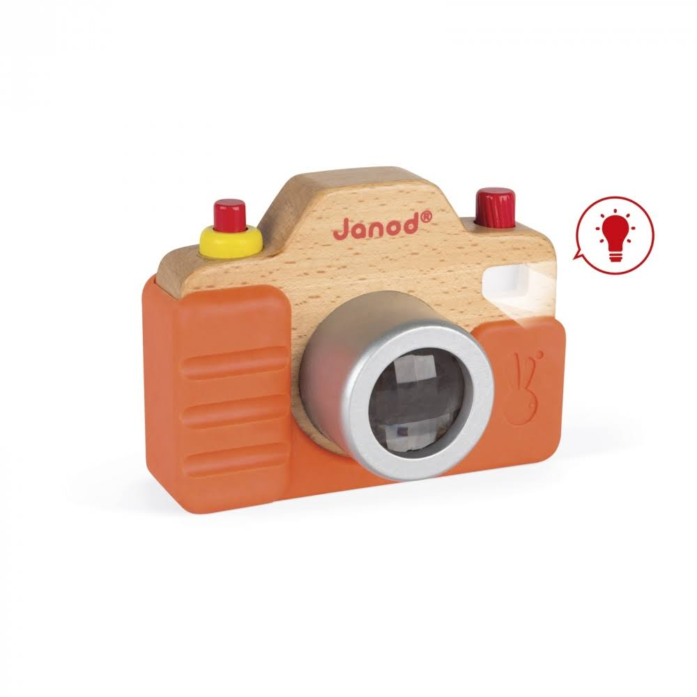 Janod Sound Camera Wooden Toy