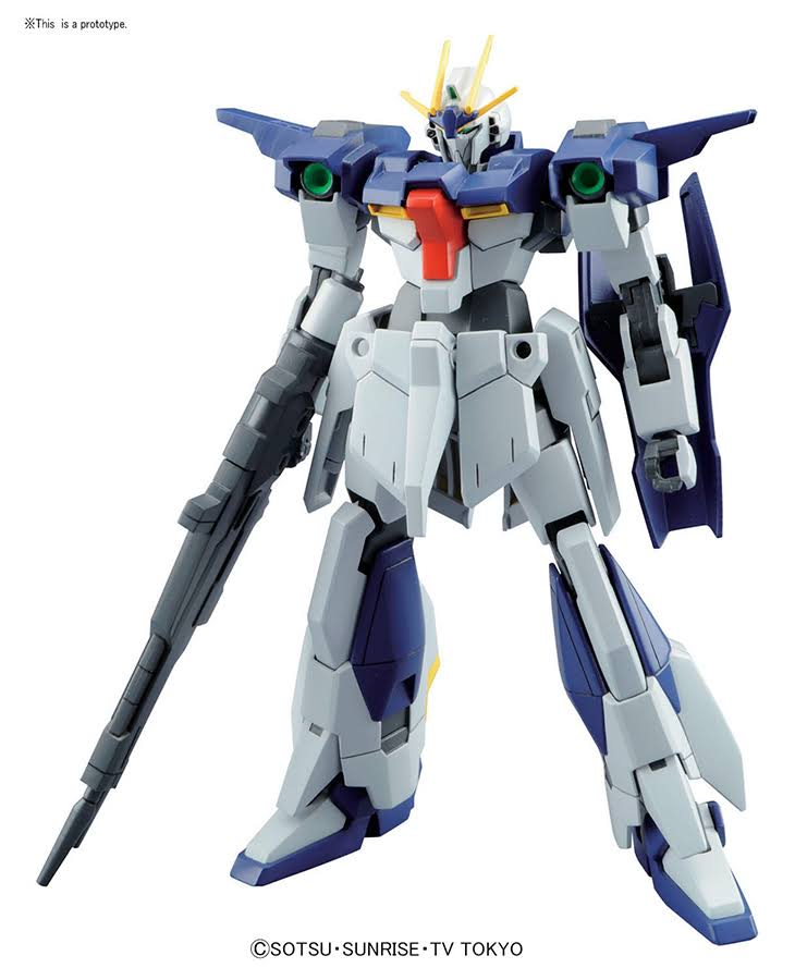 HGBF Gundam Lightning 1/144 Model Kit