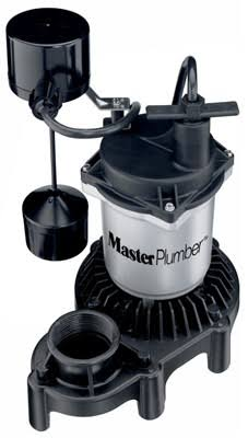 Pentair Water 176953 1/3 HP Zinc & Plastic Sump Pump