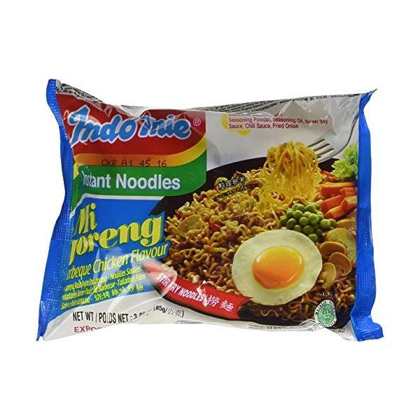 Indomie Instant Fried Noodles - BBQ Chicken Flavor, 3oz