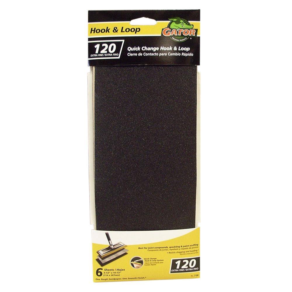 Ali Industries 7158 6ct 120Grit Drywall Sandpaper
