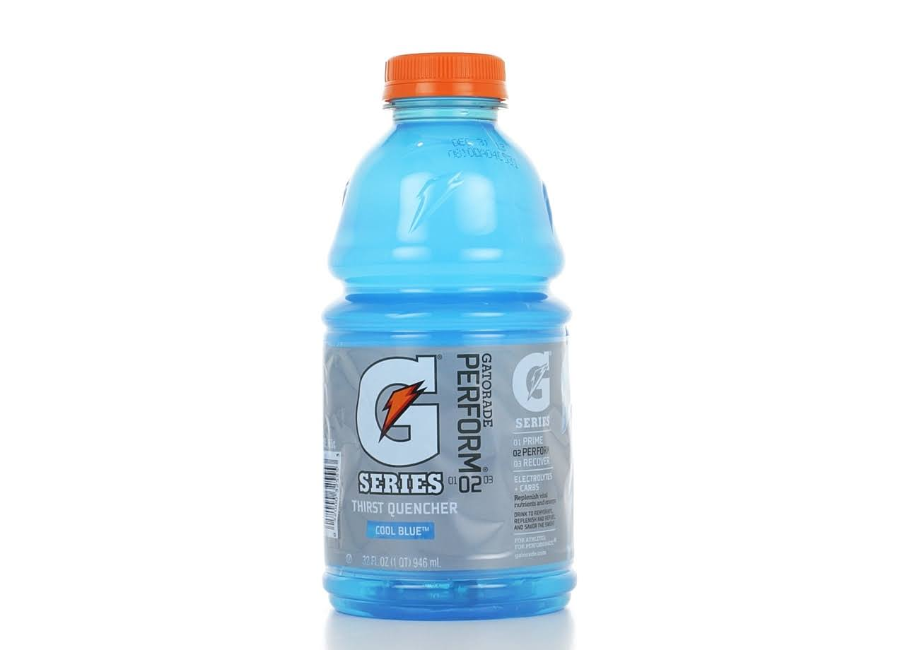 Gatorade G Thirst Quencher - Cool Blue, 32oz