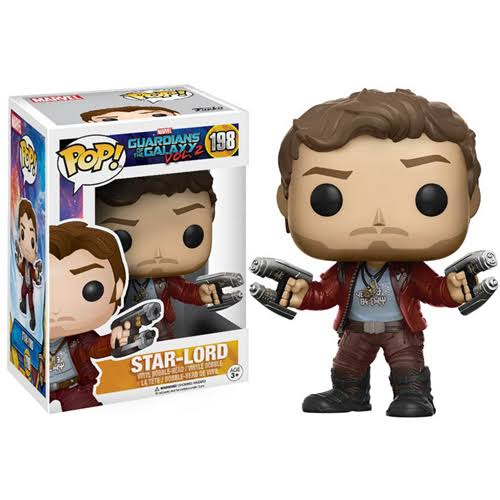 Funko Pop Guardians of the Galaxy 2 Star-Lord Bobble Head - 10cm