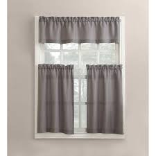 Black Sheer Curtains Walmart by Kitchen Curtains Walmart Com