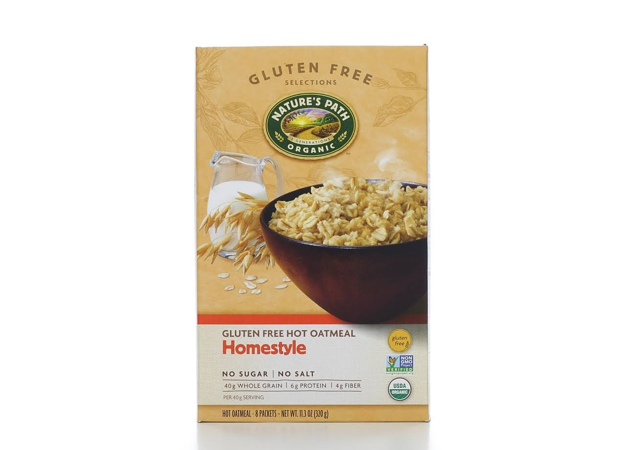 Nature's Path Organic Gluten Free Hot Oatmeal