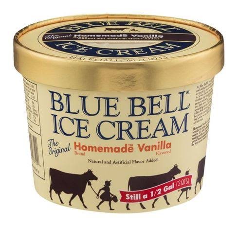 Blue Bell Ice Cream - Homemade Vanilla