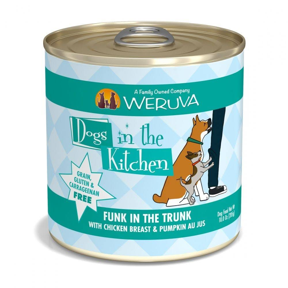 Weruva Dogs In the Kitchen Funk In the Trunk Wet Dog Food - Chicken and Pumpkin, 10oz