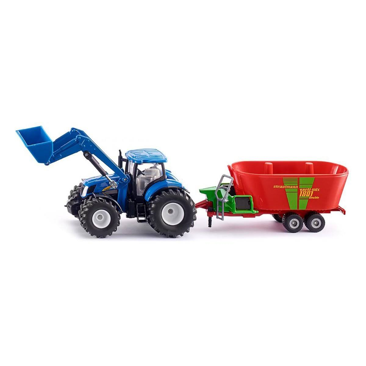 Siku New Holland Tractor Model Toy - with Front Loader