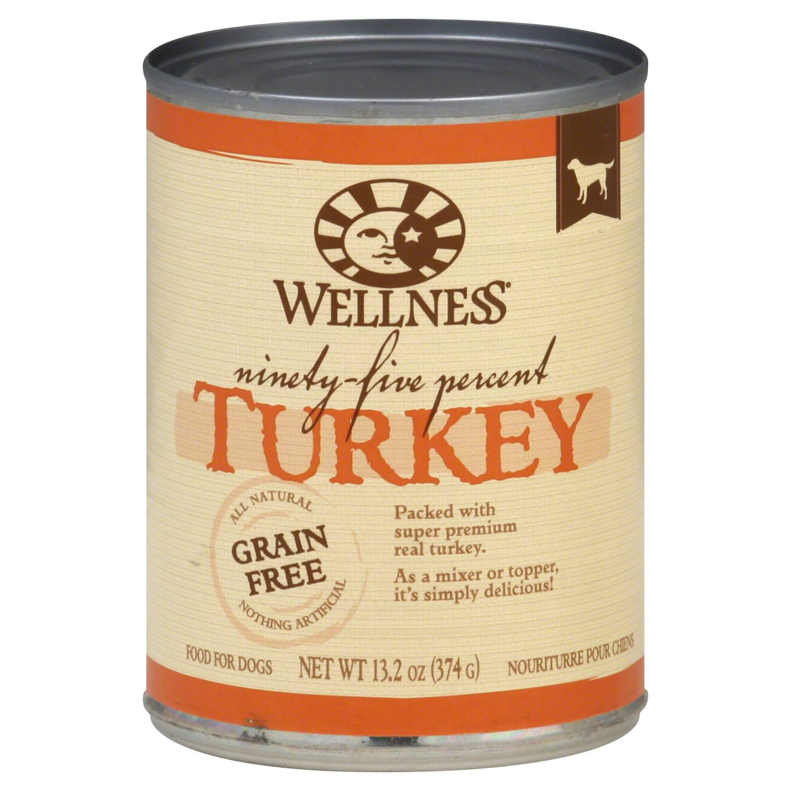 Wellness Dog Food - Turkey, 374g