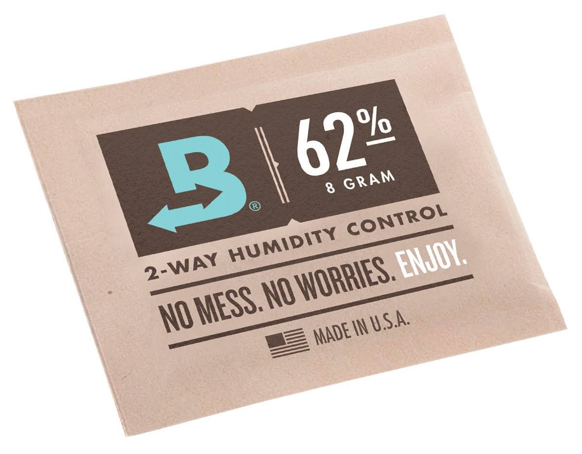 Boveda RH Retail Cube Humidifier Dehumidifier - 8gm, 62 Percent