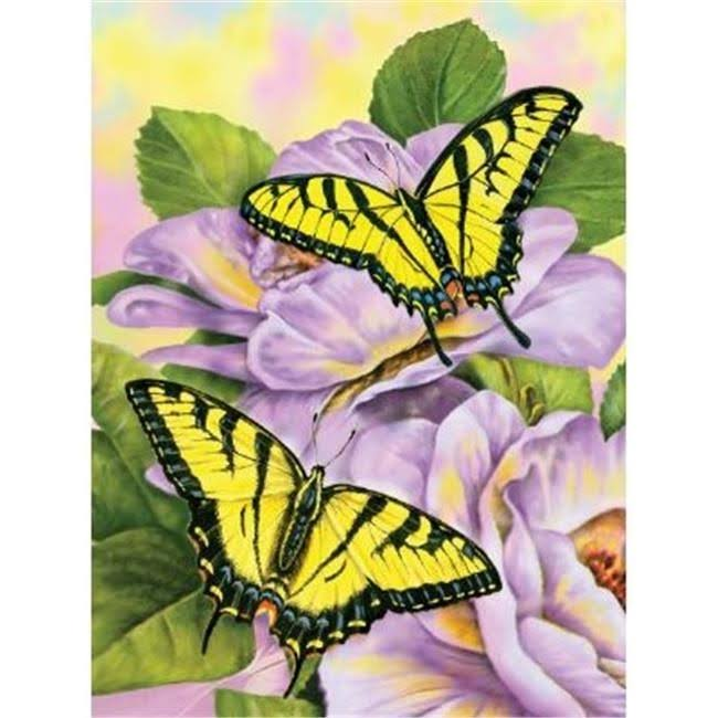 Royal Brush Junior Butterfly Paint By Number Kit - 1.9cm X 30cm