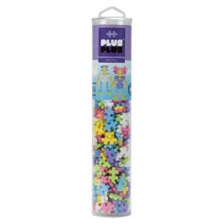 Plus Open Play Tube - 240 PC Pastel Mix