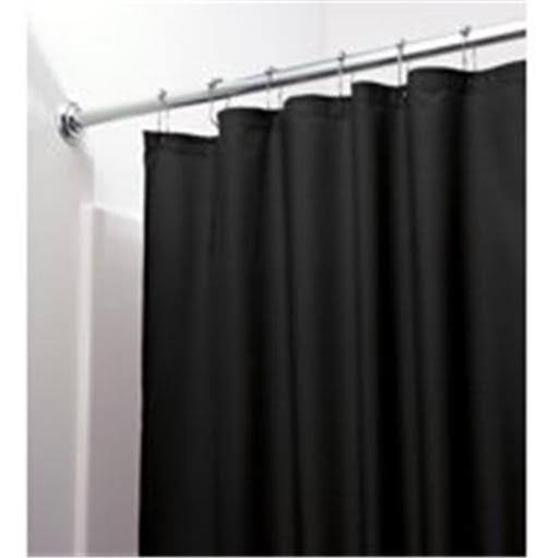 Interdesign Shower Curtain Liner; Black