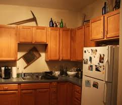 Above Kitchen Cabinet Decorations Pictures by Glass Cabinets Above Kitchen Cabinets Simple Wooden Bar Stool