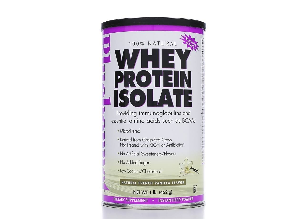Bluebonnet Whey Protein Isolate - French Vanilla, 462g