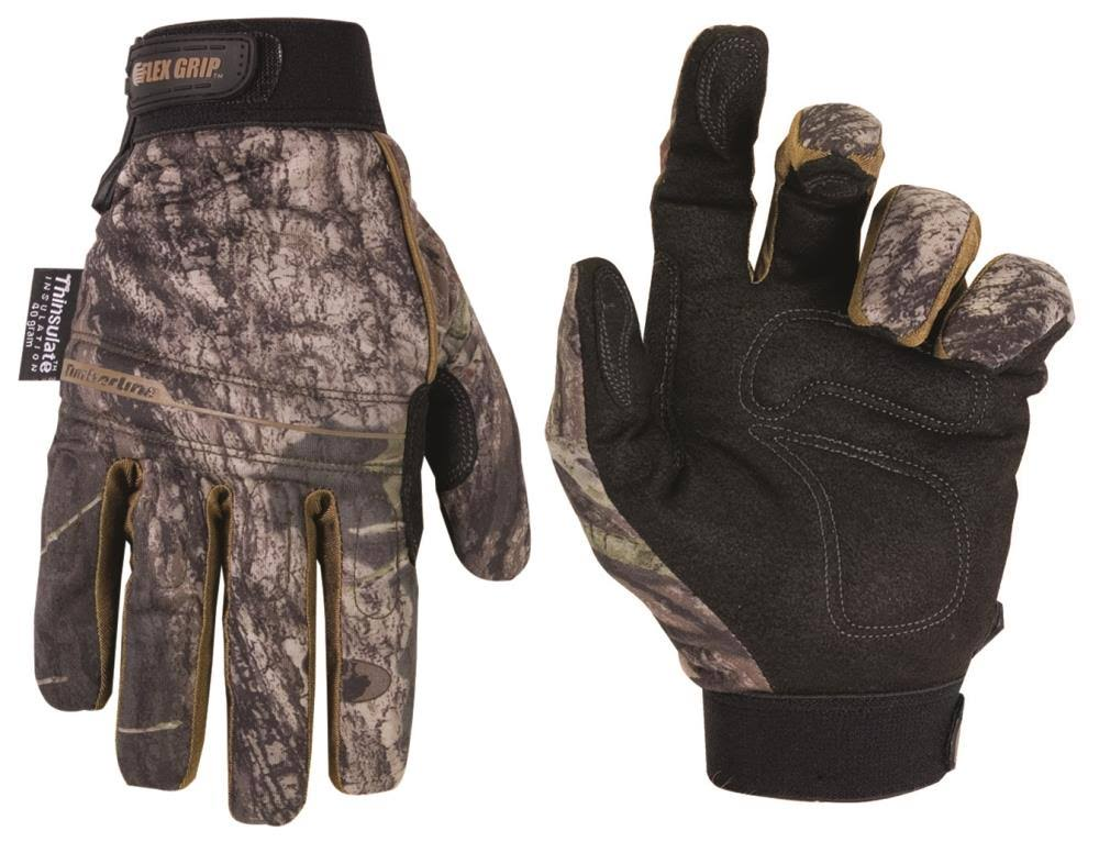 Custom Leathercraft Timberline Gloves - Mossy Oaks, Large