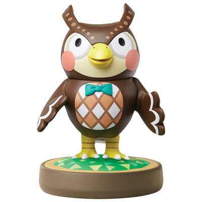 Nintendo Blathers Amiibo Action Figure Toy