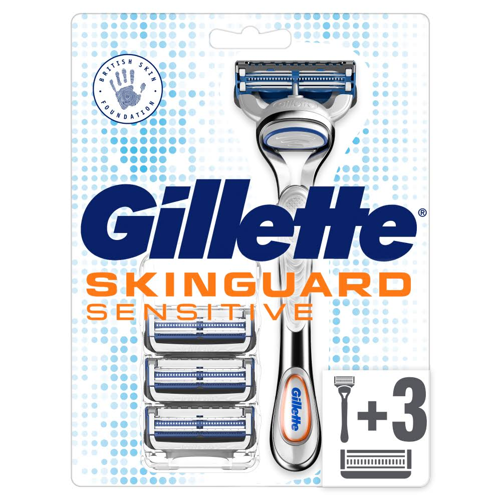 Gillette Skinguard Sensitive Starter Pack