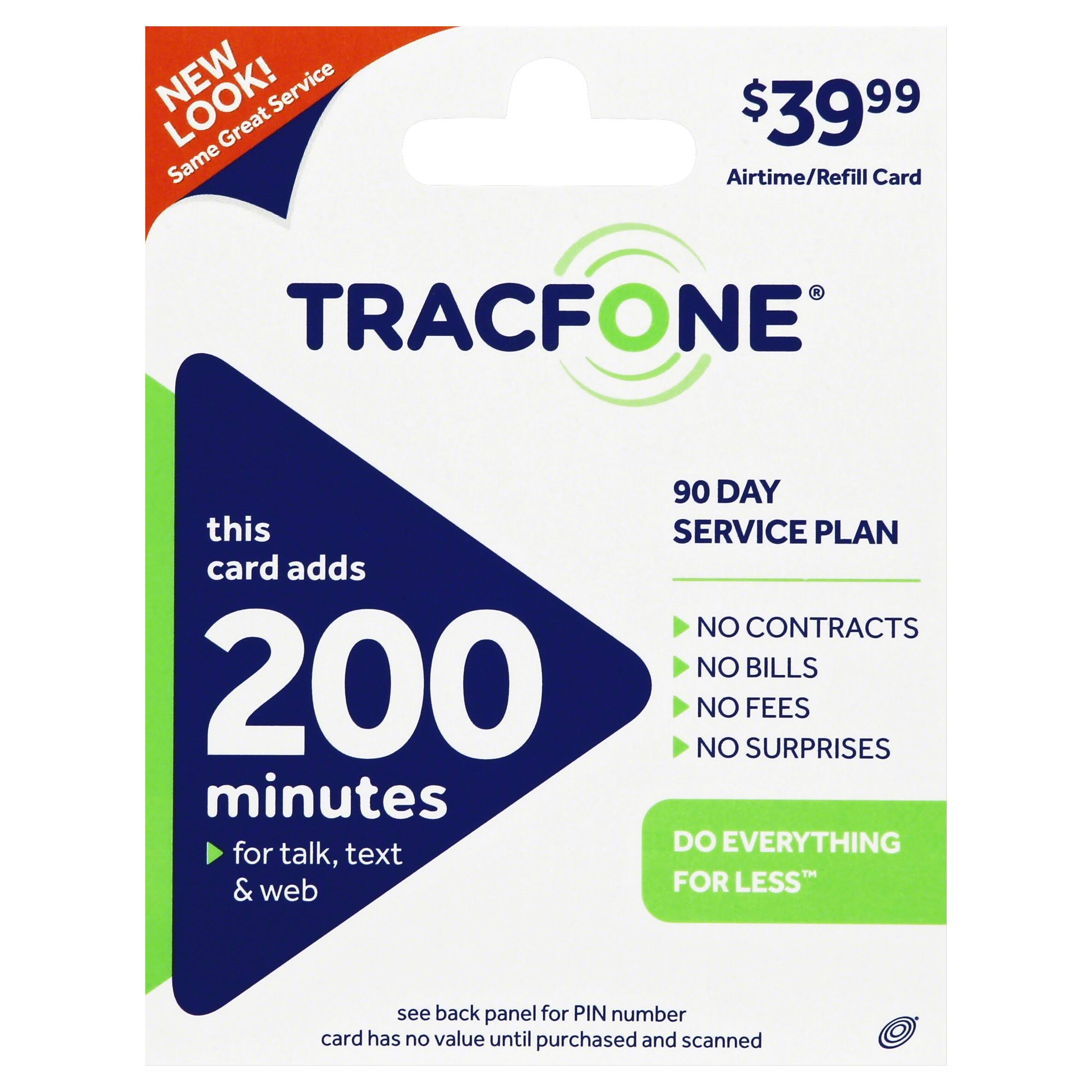 TracFone Phone Card