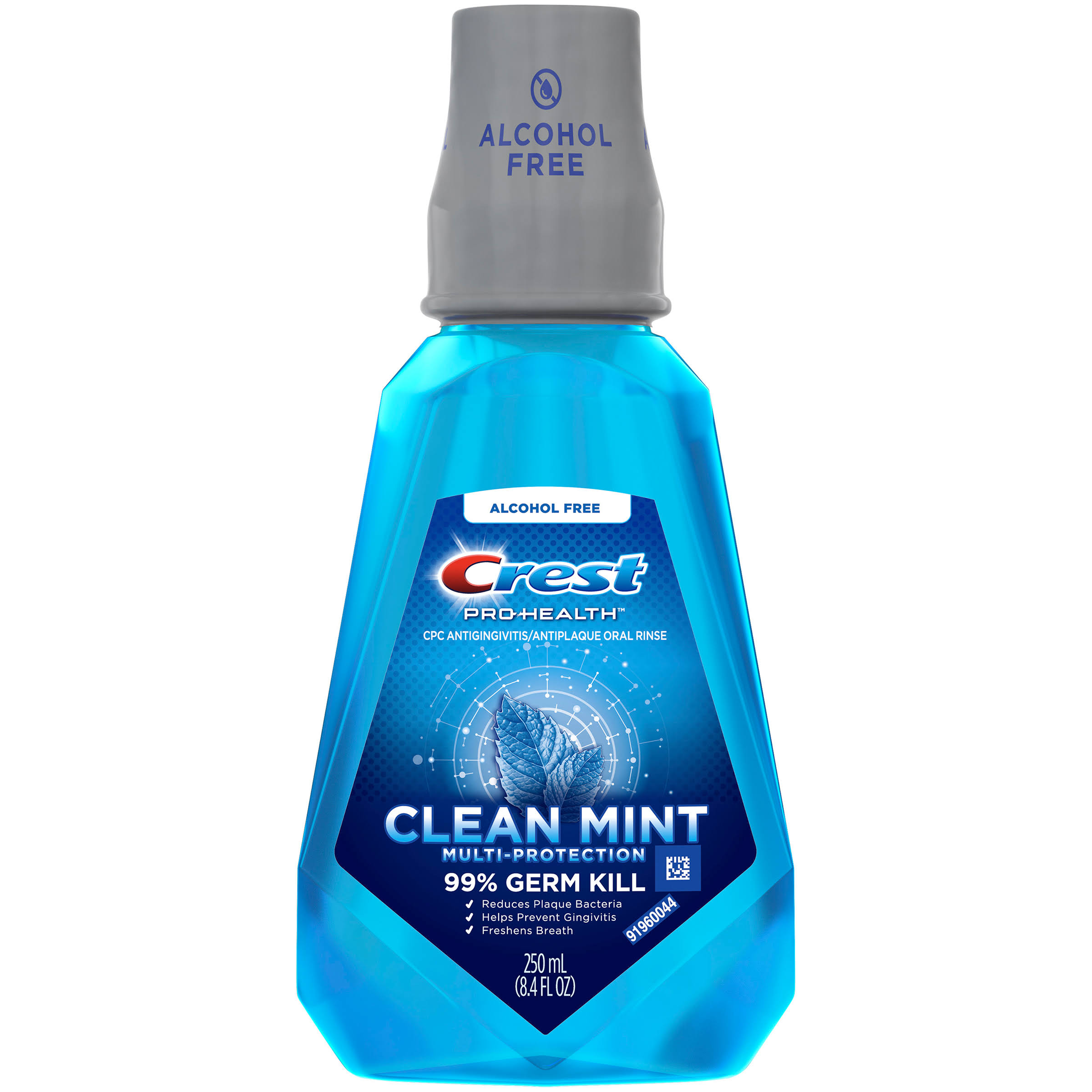 Crest Pro-Health Multi-Protection CPC Antigingivitis & Antiplaque Oral Mouthwash - Clean Mint, 8.4oz