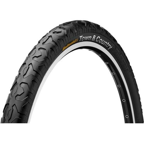 "Continental Town & Country Urban Bicycle Tyre - 26"" x 1.9"""