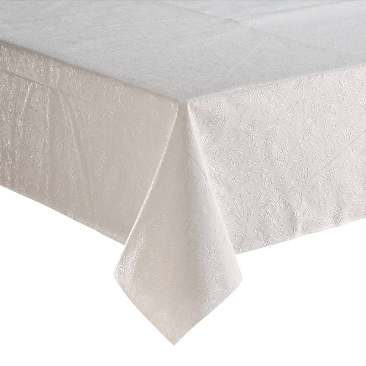 Embossed Table Pad White