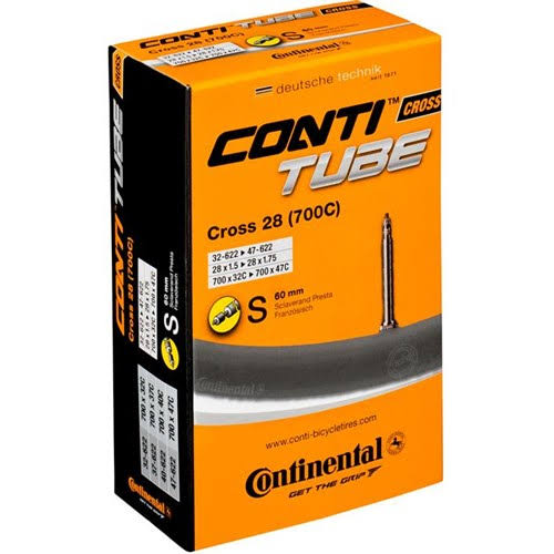 Continental Unitube Bicycle Tube - 700 x 32-42cc, 60mm Presta