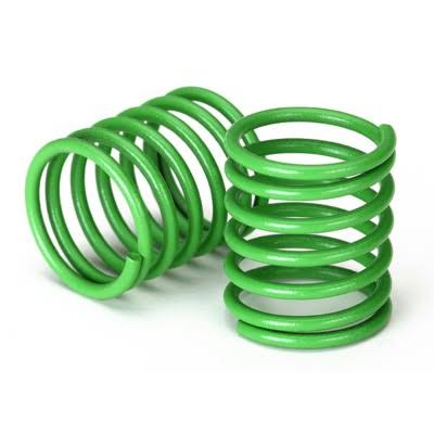 Traxxas 8362 G Spring, Shock (Green) (3.7 rate) (2)
