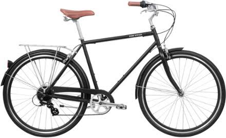 Pure City Classic Diamond Frame Bicycle - 8 Speed, 54cm, Medium
