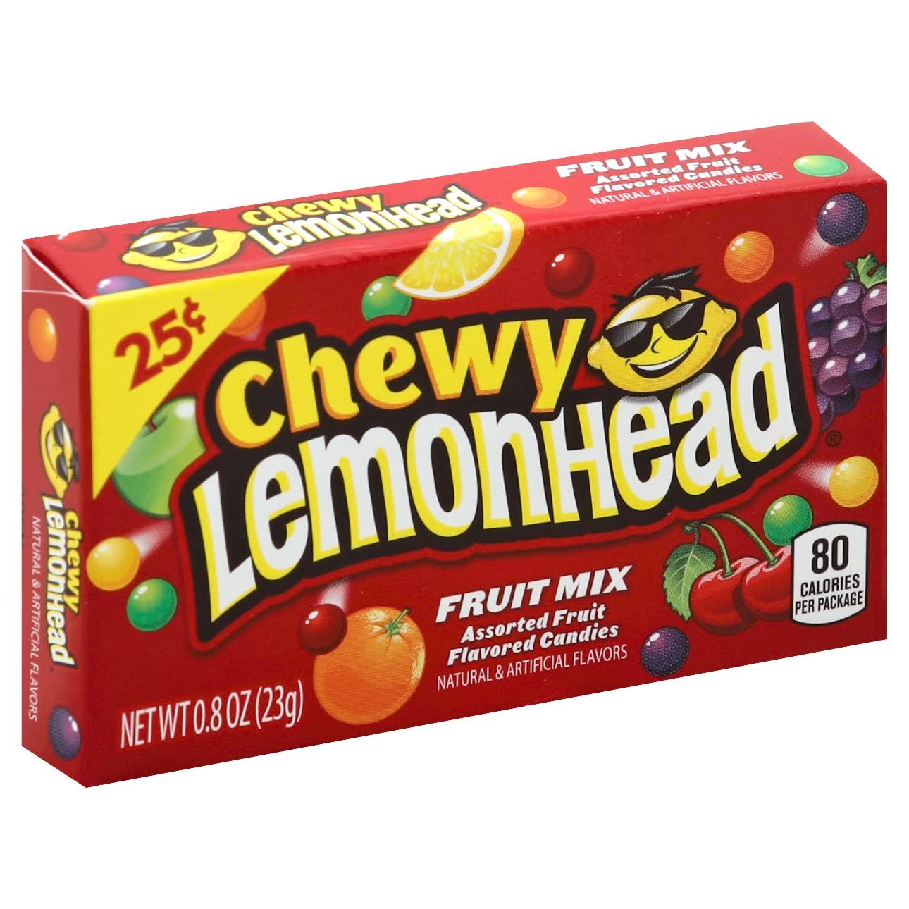 Lemonhead Chewy Fruit Mix - 23g
