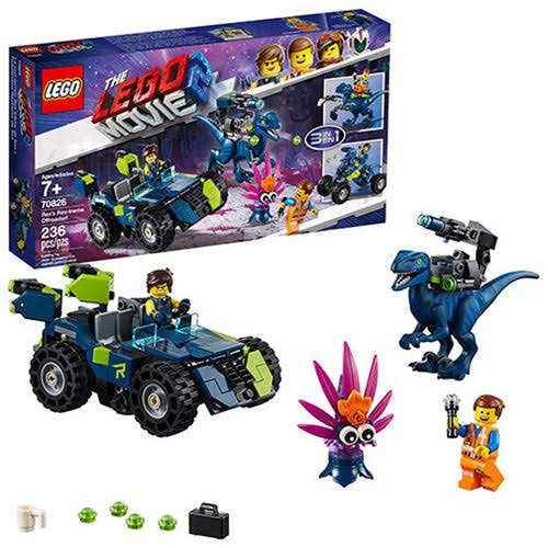 The Lego Movie 2 Rex's Rextreme Offroader! Playset