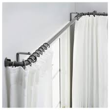 Menards Tension Curtain Rods by Curtains Corner Curtaind Ideas Decor Decoration Best About