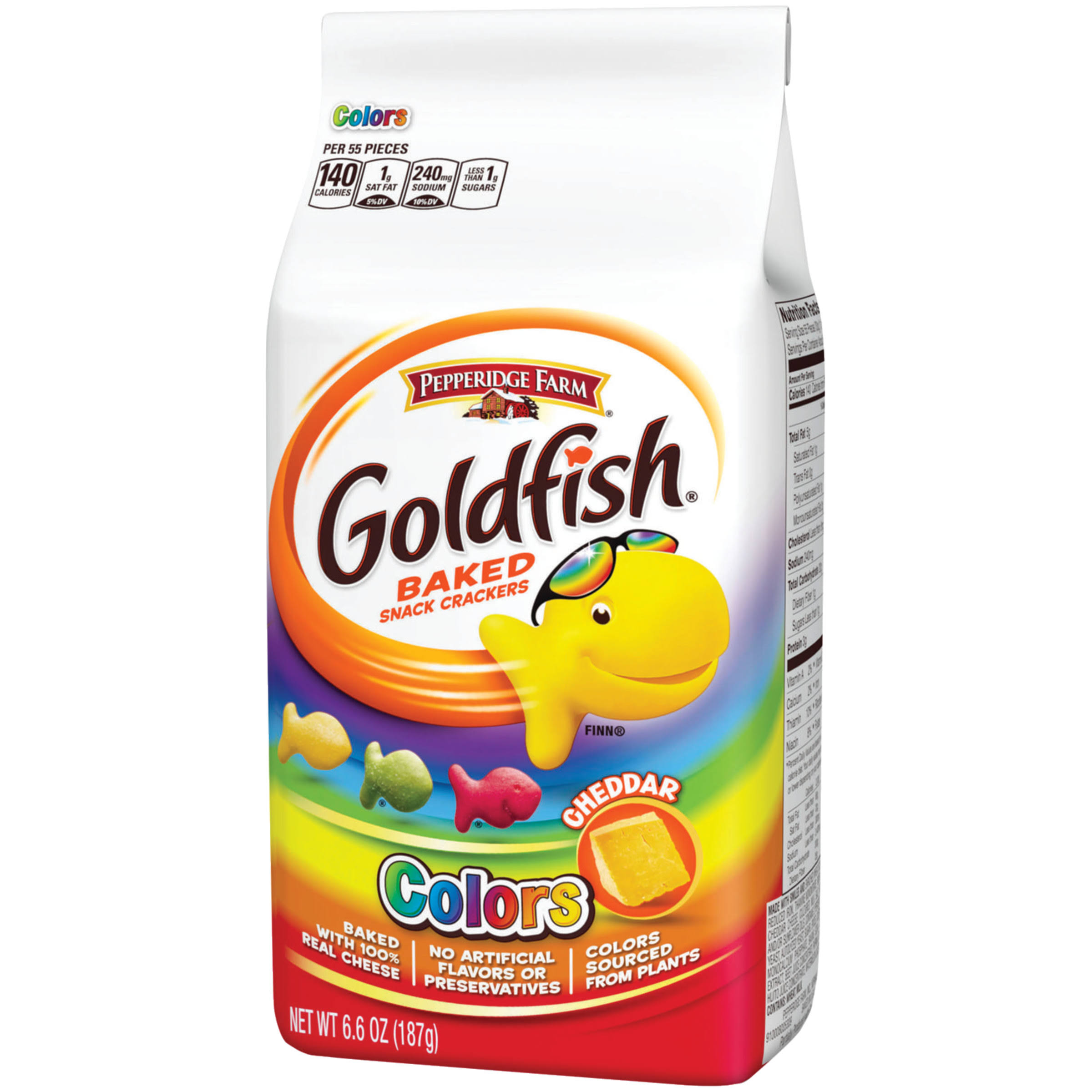 Goldfish Colors - Cheddar