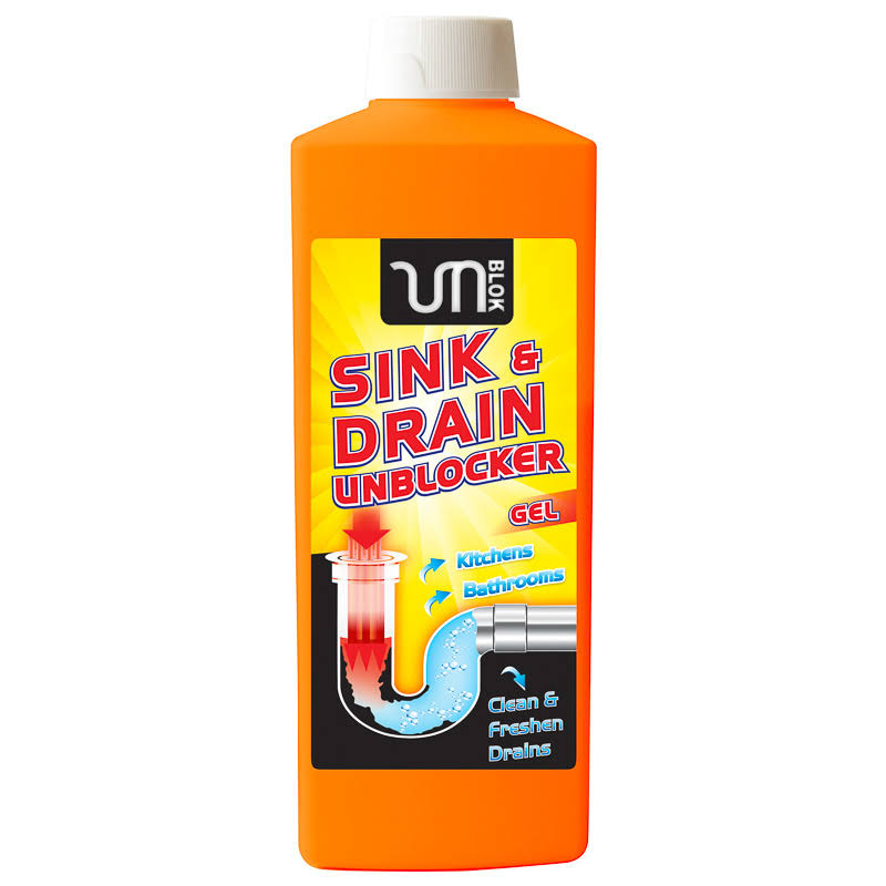 Unblok Sink & Drain Unblocker Gel 1 Litre