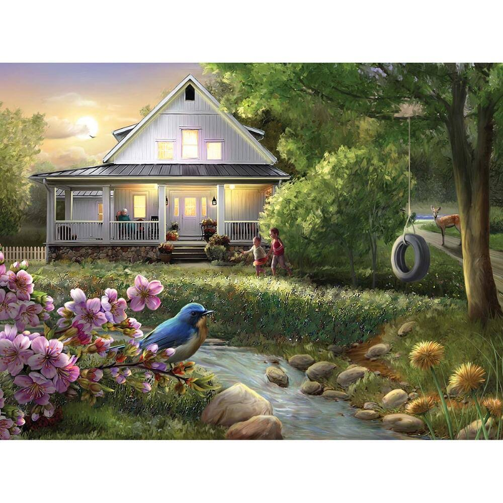 Leap Year Publishing Summer Evening Jigsaw Puzzle