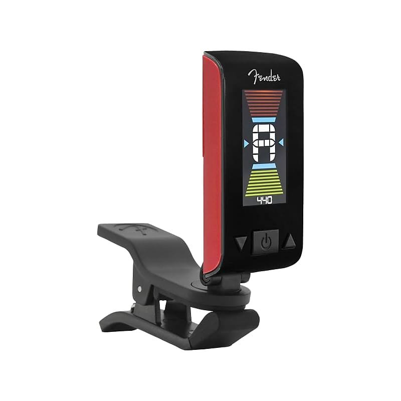Fender Original Clip On Tuner - Fiesta Red