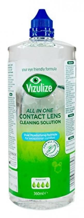 Vizulize All in One Superior (All lenses) Contact Lens Cleaning Solution 360ml