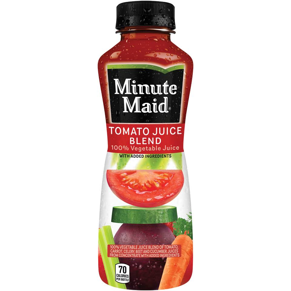 Minute Maid Tomato Juice Blend 12 Fl. Oz. Bottle