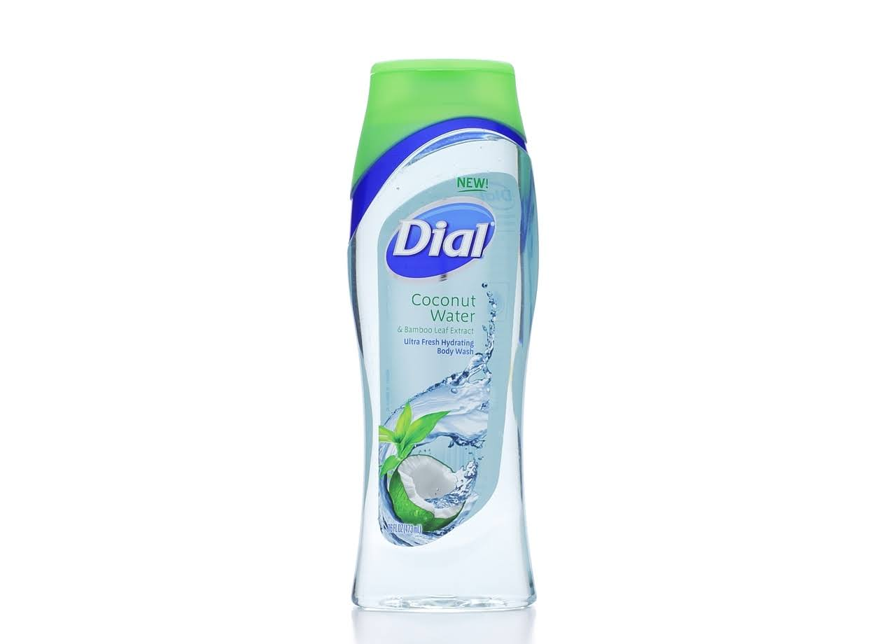 Dial Coconut Water Hydrating Body Wash - 16 oz