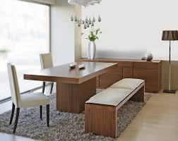 Modern Dining Room Sets Cheap by Modern Dining Benches 46 Trendy Furniture With Modern Dining Table