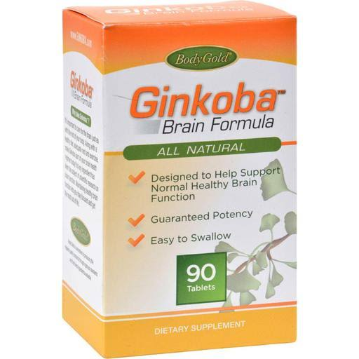 Pharmaton Natural Health Ginkoba Brain Formula Supplement - 90 Tablets