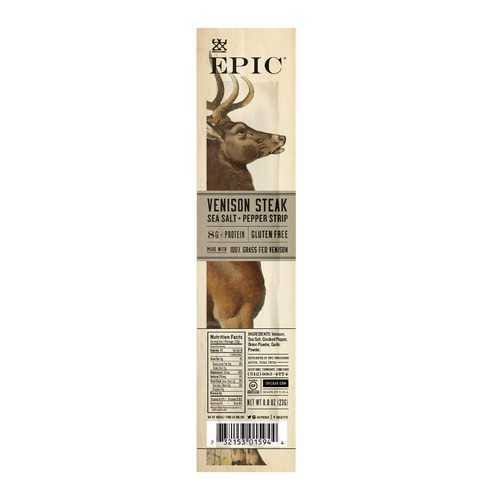 Epic Venison Snack Strip - 0.8 oz stick